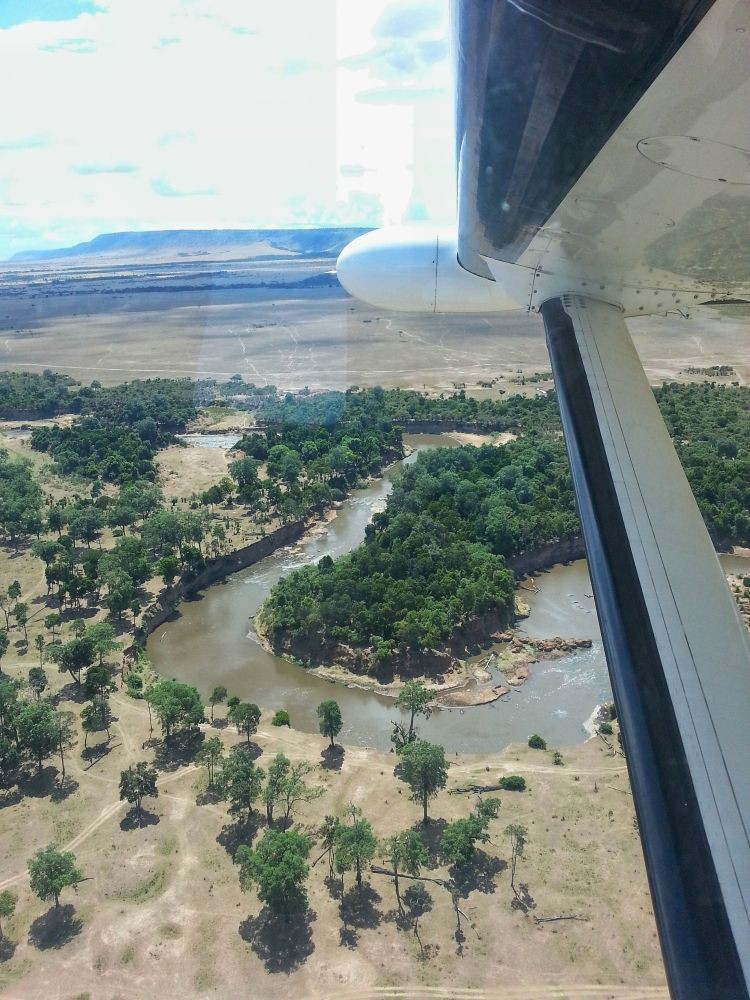 Go-On-Travel.de Mara River in sicht