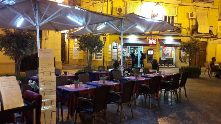 Tapas Restaurant in der Altstadt