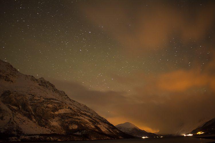 Sternenhimmel über Nordnorwegen