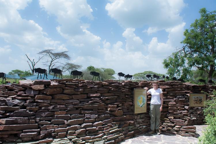 m Grzimek Besucherzentrum in der Serengeti