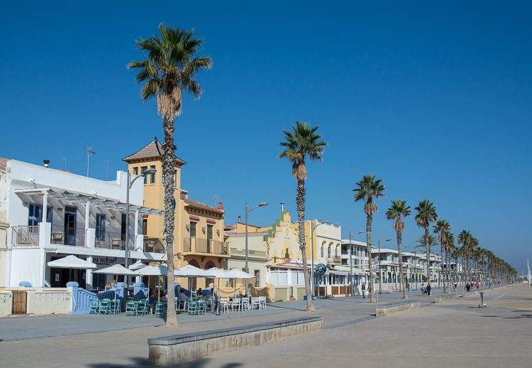 Strandpromenade Malva-Rosa