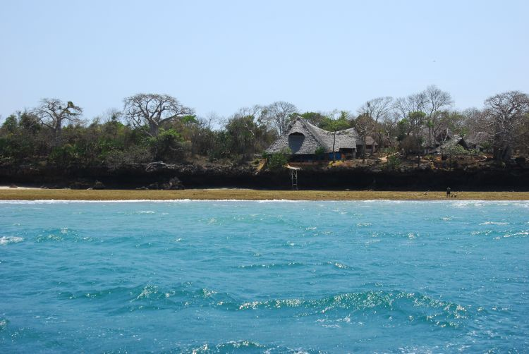 Wasini Island in Sicht