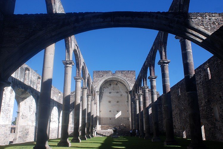 Tecali - das Kloster ohne Dach