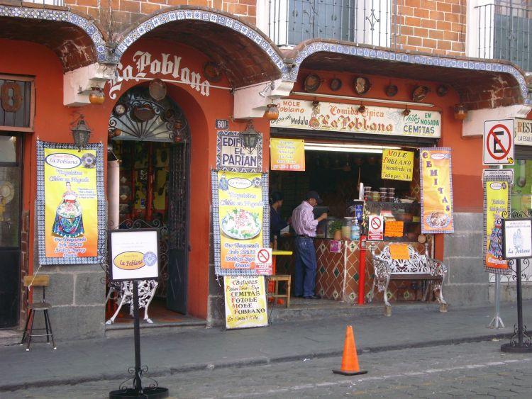 Mole Poblano Restaurant am El Parian