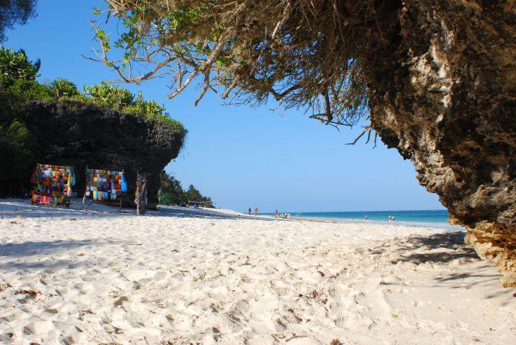 ein Strandtag in Diani