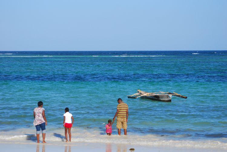 Strandleben Diani Beach