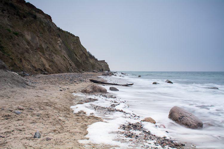 Steilküste von Ahrendshoop