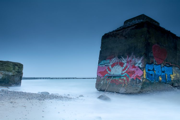 Bunker am Wustrower Strand