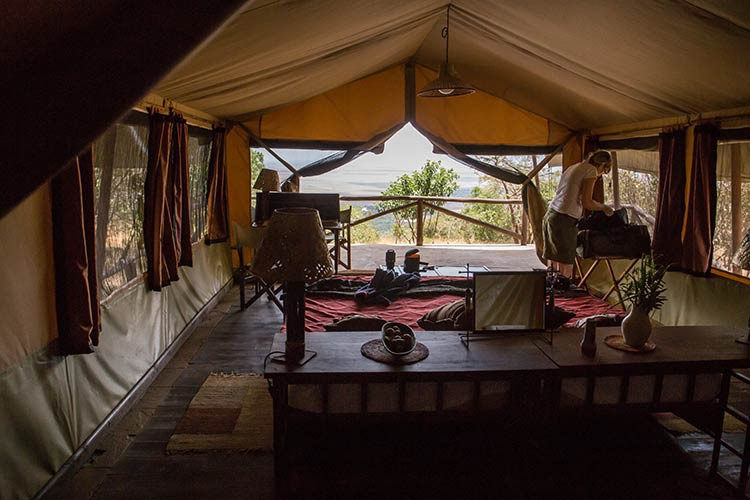 GoOnTravel.de: Unser Zelt im Kilima Camp