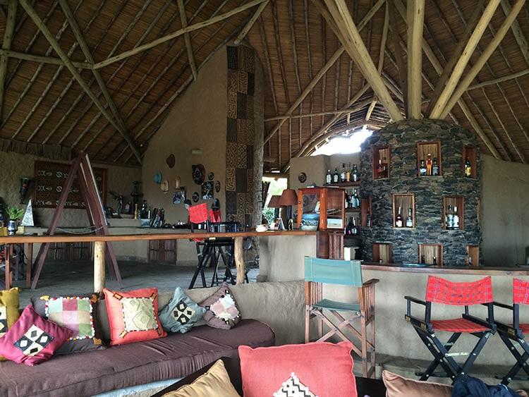 GoOnTravel.de: Das Hauptzelt des Kilima Camps