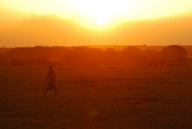 Mara Sonnenuntergang