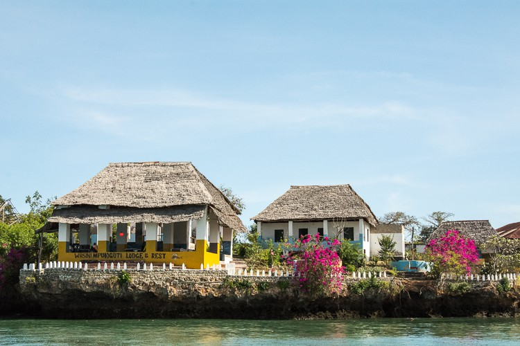 Beach Restaurants Wasini Island