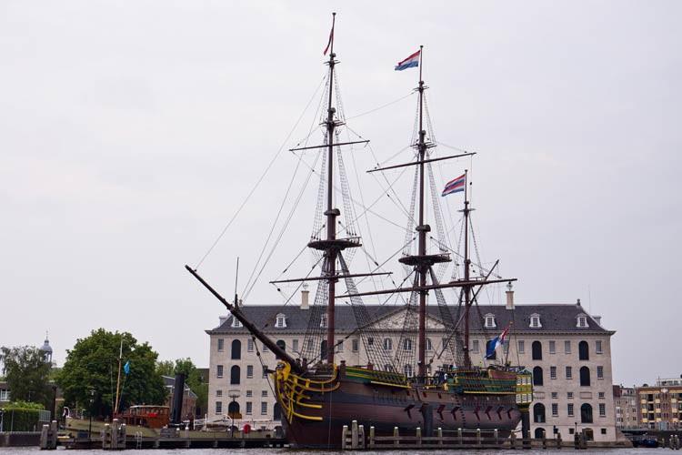 Das Schifffahrtsmuseum in Amsterdam