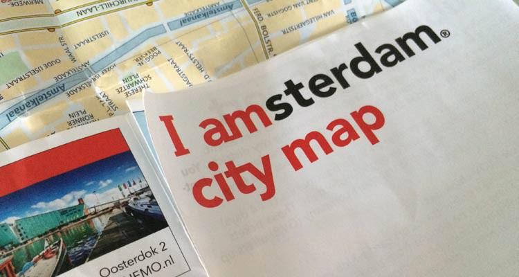 GoOnTravel.de: Stadtplan Amsterdam