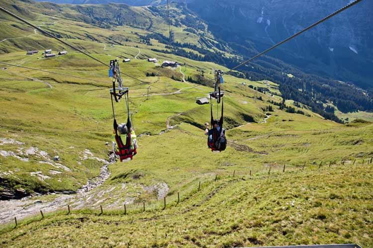GoOnTravel.de: Talfahrt mit dem First Flieger