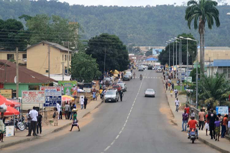 In der Volta Region von Ghana - Ho