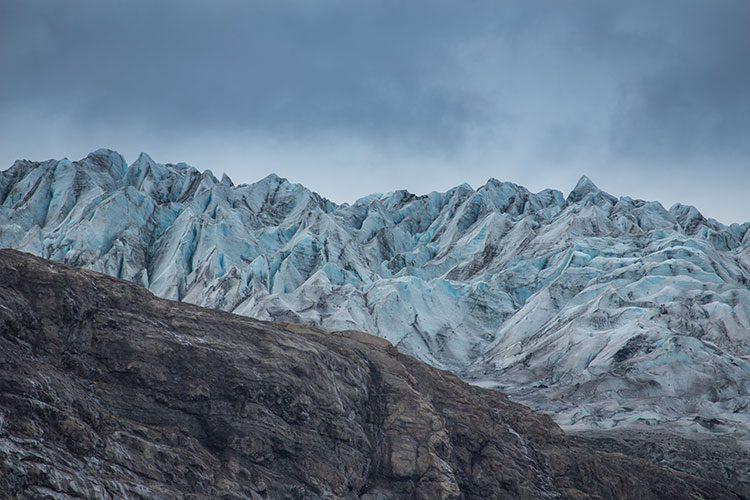 GoOnTravel.de: Die Gletscherzunge Flaajökull im Süden von Island