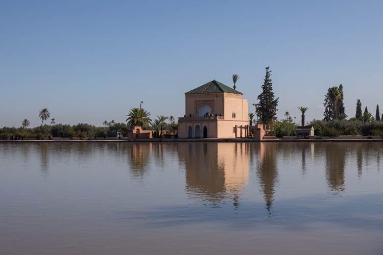 GoOnTravel Marrakesch Menara-Garten