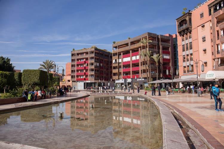 GoOnTravel Place du 16 Novembre in Marrakesch