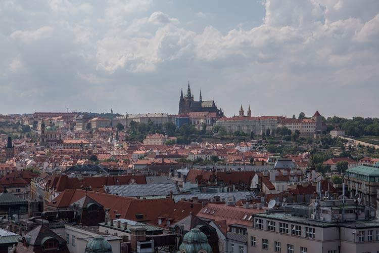 GoOnTravel.de: Blick vom Prager Rathaus