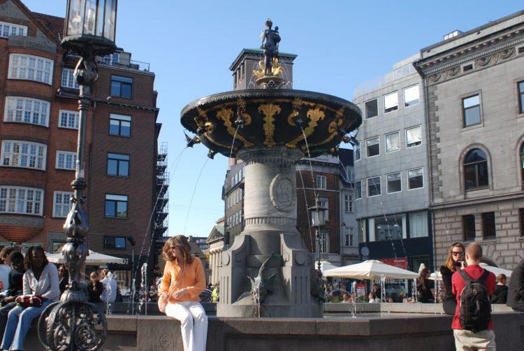 shoppen im Zentrum von Kopenhagen