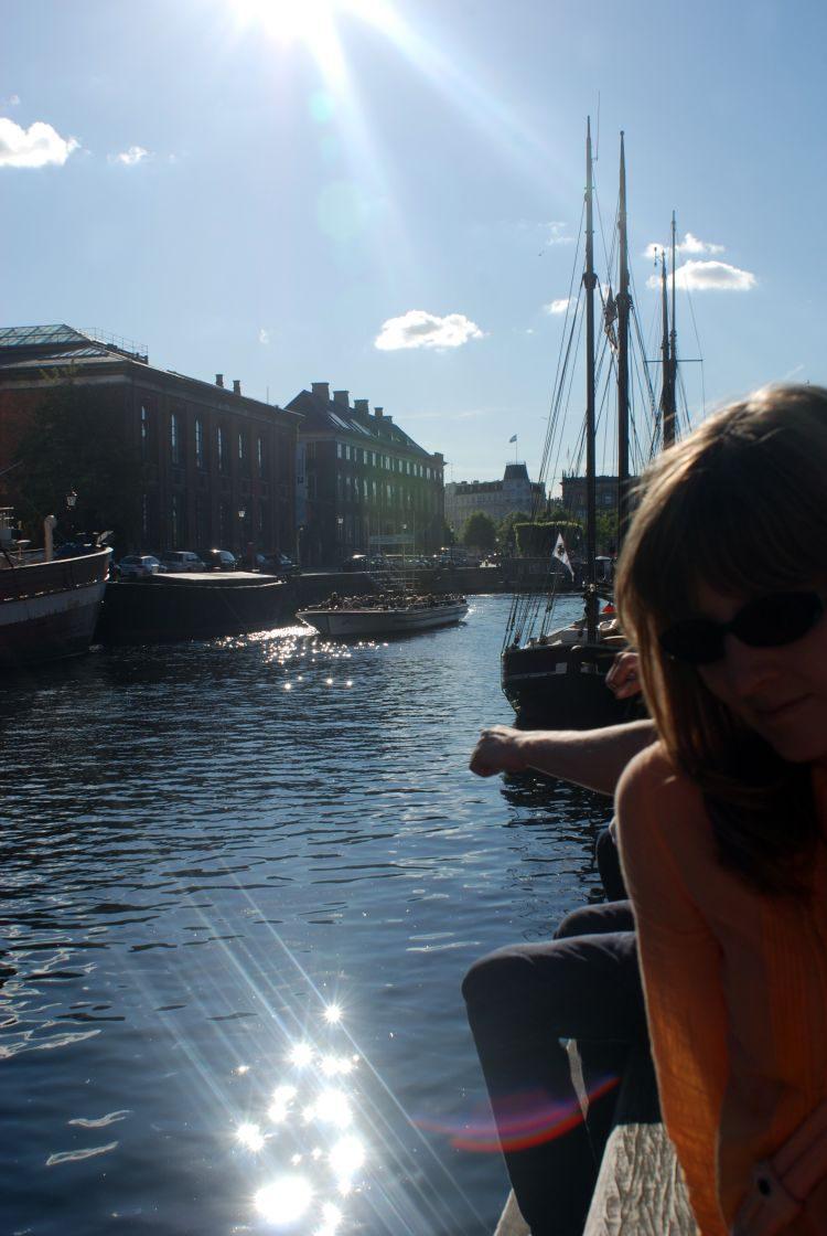 am Nyhavn Kanal die Seele baumeln lassen