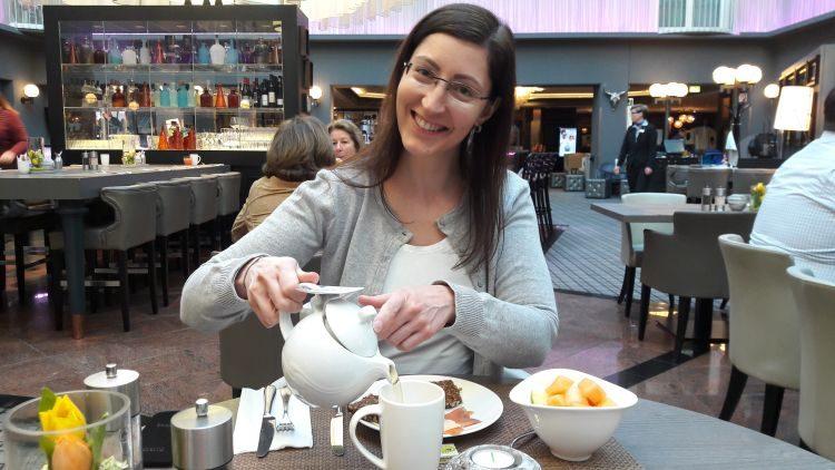 Frühstück im Radisson Blu