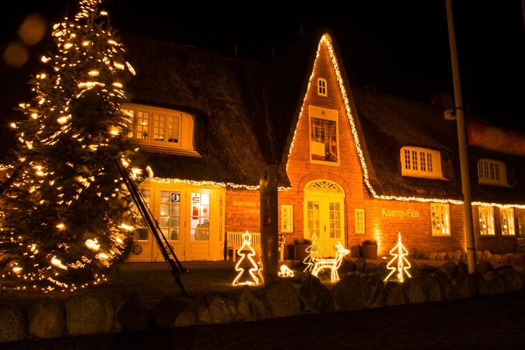 Weihnachtsmarkt GoOntravel Kampen/Sylt