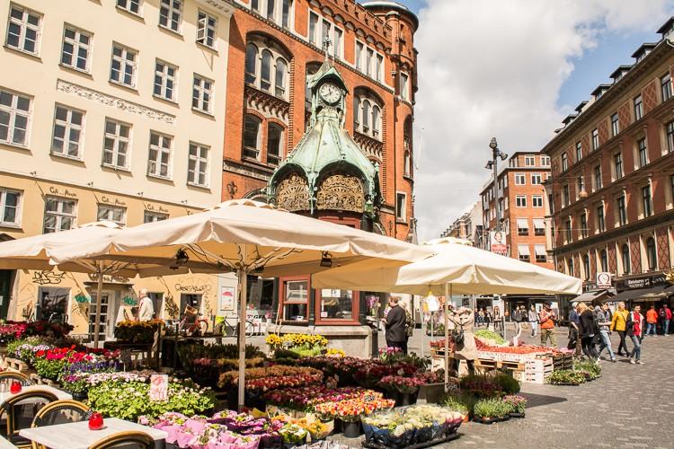 in der Innenstadt von Kopenhagen