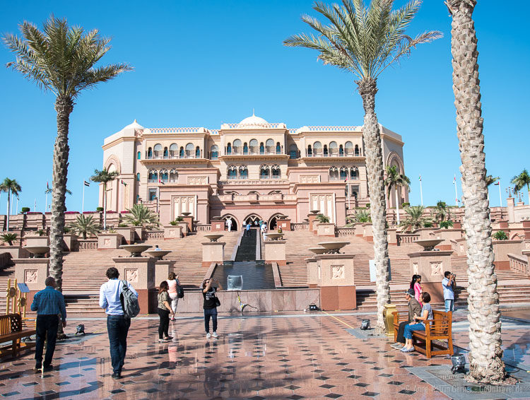 Die Abu Dhabi Sehenswürdigkeit: das Emirates Palace