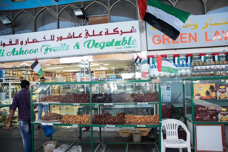 Dattelmarkt in Abu Dhabi