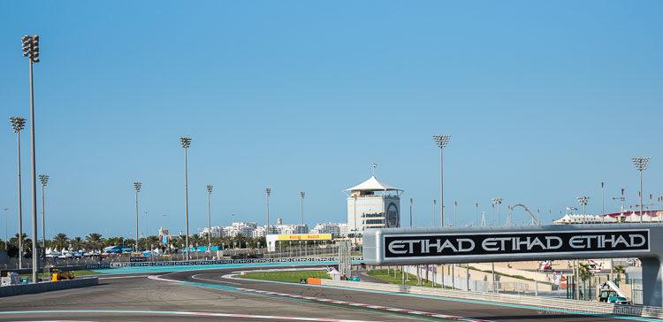 Rennstrecke Yas Marina Circuit