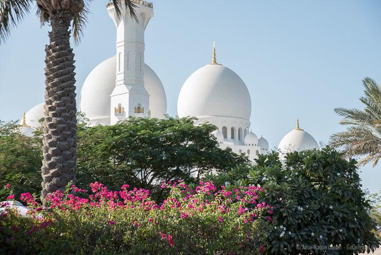 Außenansicht Scheich Zayid Moschee