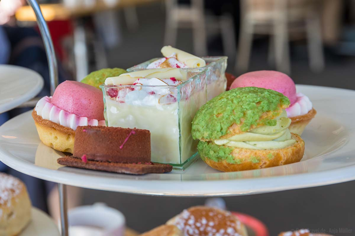 Patisserie zum Afternoon Tea in Wales