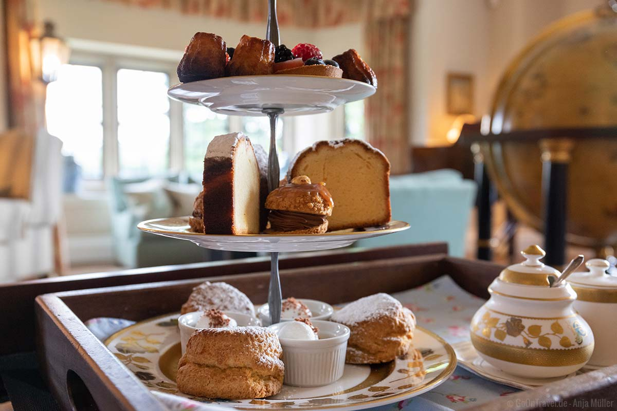 Afternoon Tea im Llangoed Hall Hotel