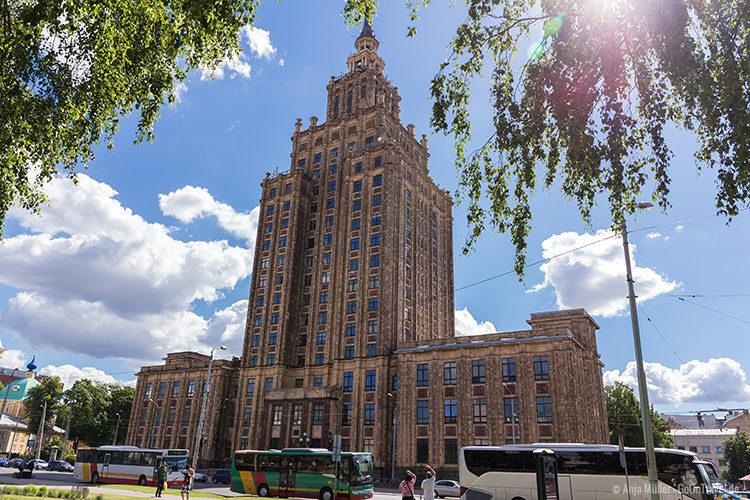 Riga Tipps: Gebäude der Lettischen Akademie der Wissenschaften