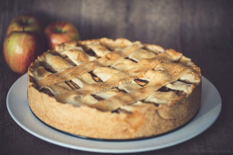 Amerikanischer Apfelkuchen - American Pie Rezept