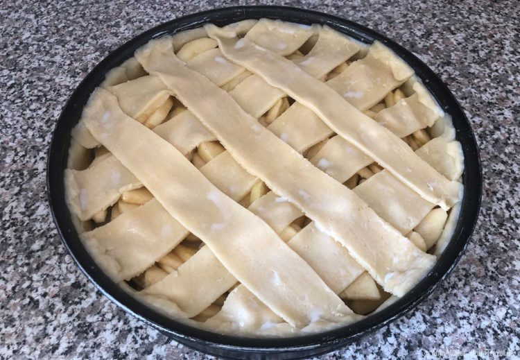 Rezept Amerikanischer Apfelkuchen Zubereitung