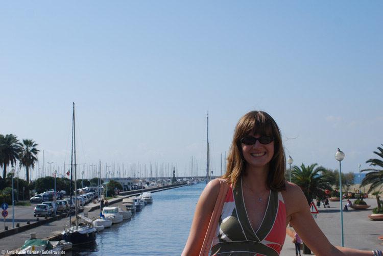 Anne in Viareggio