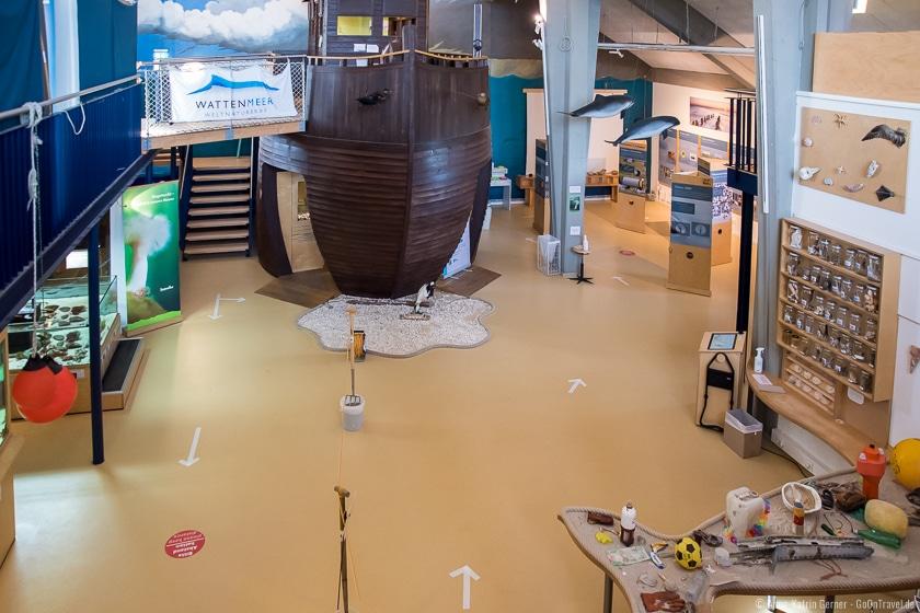 Ausstellung in der Arche Wattenmeer in Hörnum