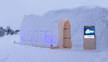 Eine Übernachtung im Iglootel am Polarkreis