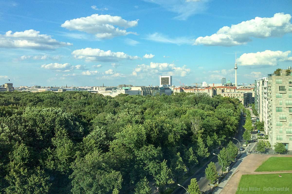 WeWork am Potsdamer Platz ist leider kein öffentlicher Aussichtspunkt in Berlin