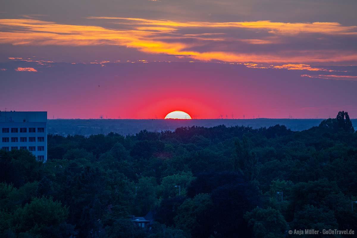 Sonnenuntergang am Drachenberg