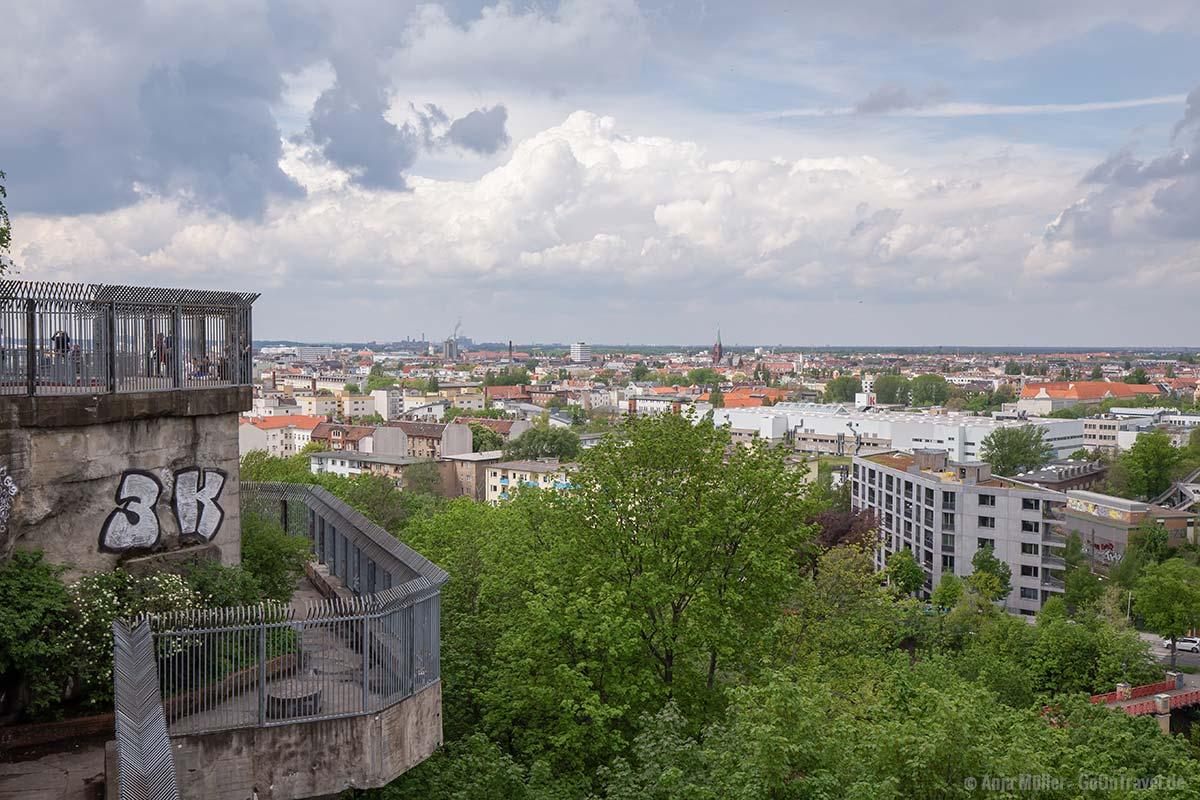 Blick auf den Westen von Berlin