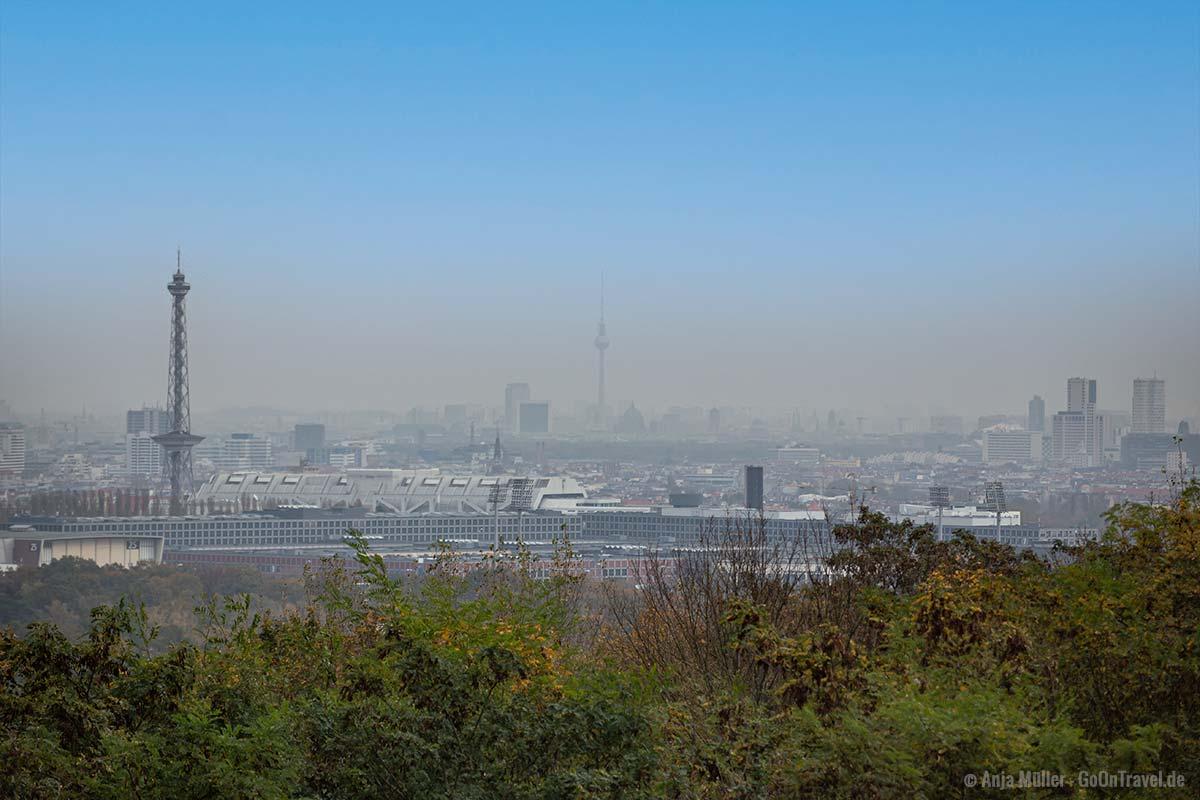 Der Teufelsberg ist ein schöner Aussichtspunkt in Berlin