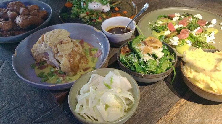 Diverse Speisen im BRLO BRWHOUSE