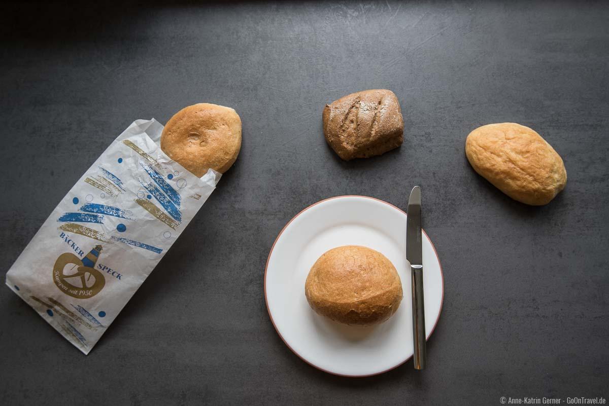 Einfache Brötchen, Kieler und Roggenbrötchen von Bäckerei Speck