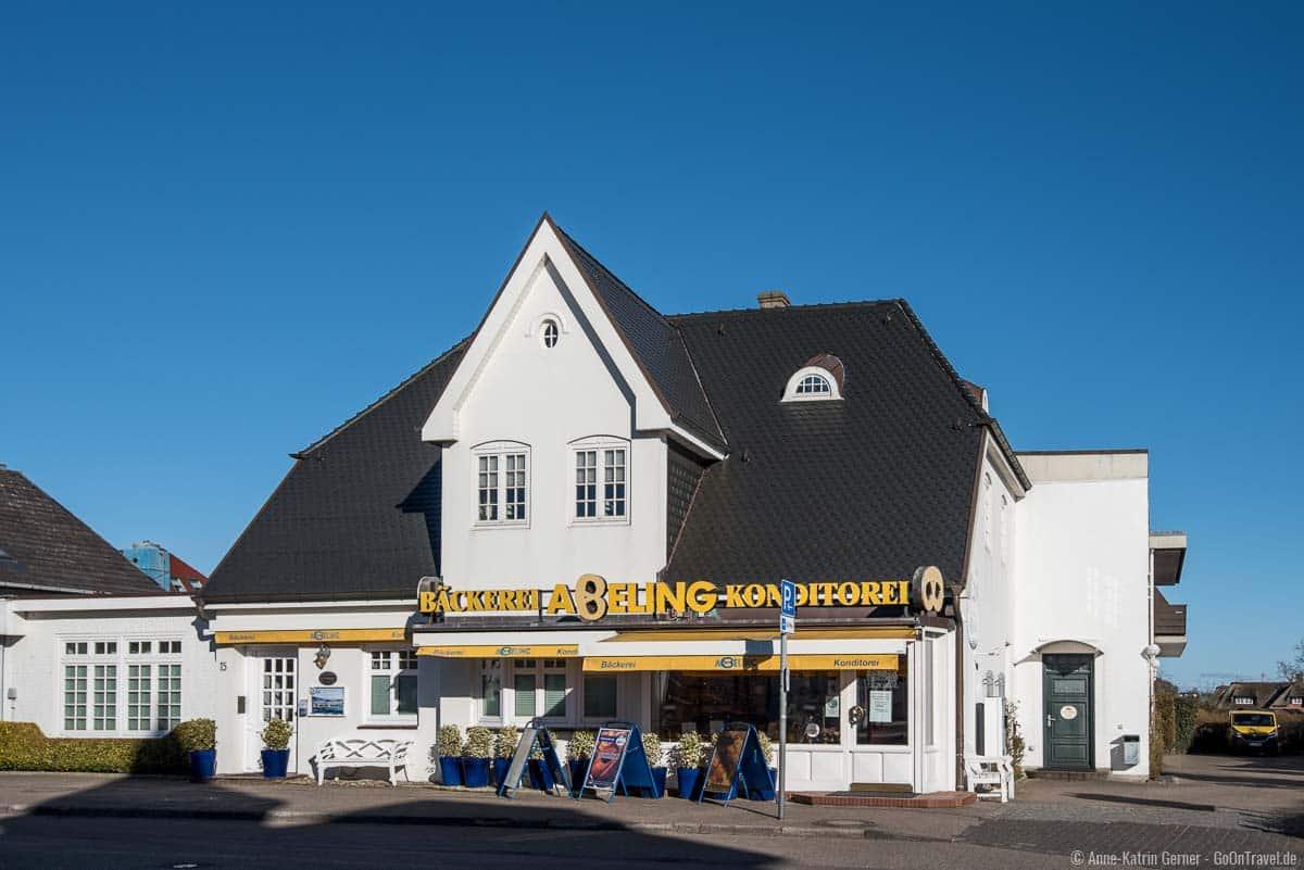 Bäckerei Abeling Hauptfiliale in Westerland