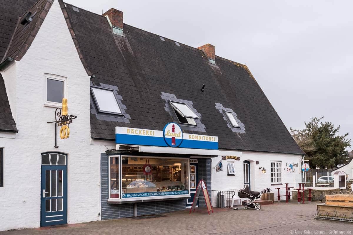 Bäckerei Lund in Hörnum