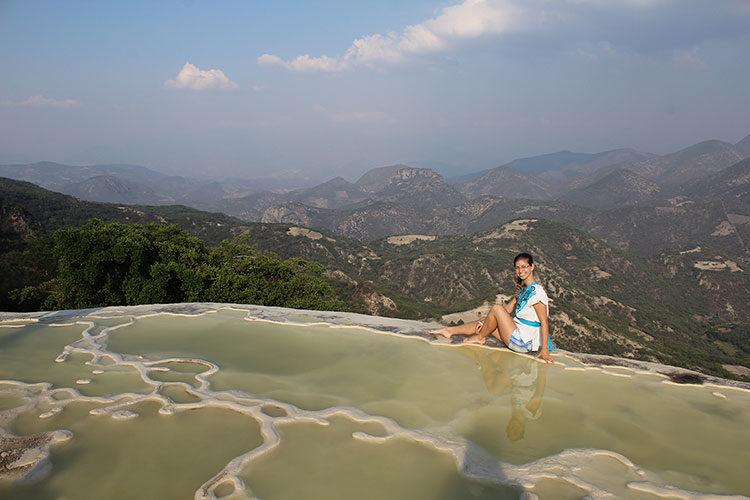 Hierve el Agua in Mexiko